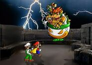 Bowser's clown car