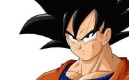 Goku's angry