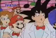 Goku with mario