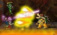 Fighing bowser