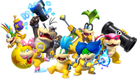 Koopalings, New Super Mario Bros. U