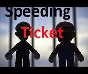 Speeding ticket p.g