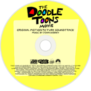 The Doodle Toons Movie (2017) Soundtrack disc