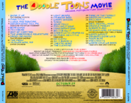 The Doodle Toons Movie (2017) Soundtrack back cover