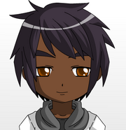 Portrait of anime black skinned boy by sunoflove-d5r9fau