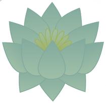 Lotus flower blue