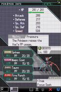 Deoxys Battle