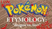 Pokemon Entymology - Flygon