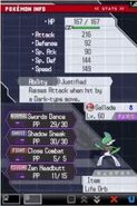 Gallade Battle