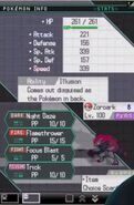 Zoroark Battle