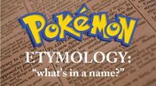 Pokemon Etymology - Zangoose
