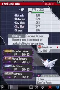 Togekiss Battle