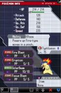 Typhlosion Battle