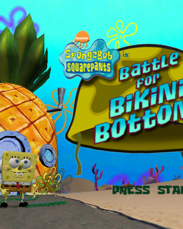 Spongebob Squarepants Battle For Bikini Bottom Prerelease