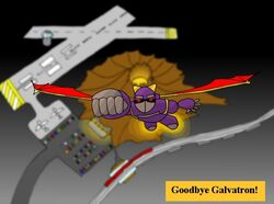 Galvatron leaves