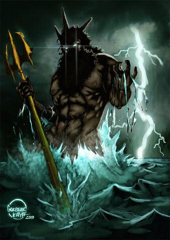 File:Poseidon Neptune Greek God Art 02 by Gokberk Kaya.jpg