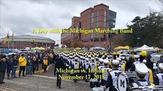 A Day with the Michigan Marching Band-0