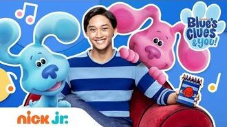 New Series Blue's Clues & You EXTENDED Theme Song! 🐾 Nick Jr-0