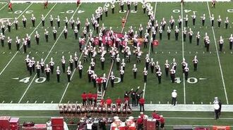 UofL Marching Cards Pregame 9-15-2018