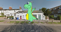 Dudley the Dragon in My Parade