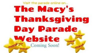 The Macy's Thanksgiving Day Parade Website Teaser Poster