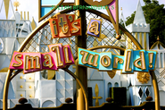 It's A Small World.