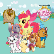 Whisker Haven with the Palace Pets (Julian Bernardino's Style)