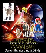 Star Wars Episode 7 - The Force Awakens (Julian Bernardino Style).