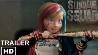 Suicide Squad Non Disney Trailer