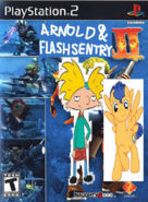 Mr. Arnold and Flash Sentry 2.
