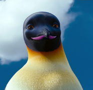 Mrs Adult Gloria's close up in Happy Feet Two