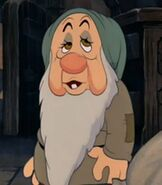 Sleepy in Snow White and the Seven Dwarfs