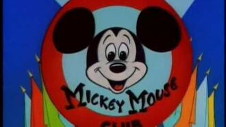 50s MICKEY MOUSE CLUB Color Intro
