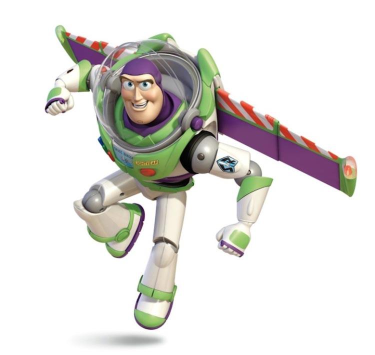 Toy Story Buzz Lightyear Flying