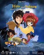 Hiro and Sakura Sealed with a Kiss