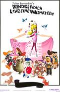 Princess Peach and the Seven Animateds.