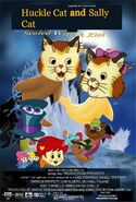 Huckle Cat and Sally Cat Sealed with a Kiss