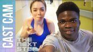 The Next Step Season 5 - Akiel Cast Cam Behind the Dance-a-Thon
