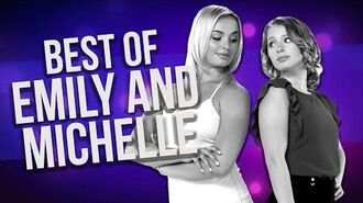 Top 6 Emily & Michelle Scenes - The Next Step 6