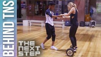 Behind the Scenes- Kingston & Lola Hoverboard Duet - The Next Step