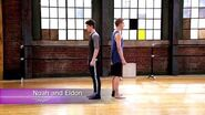 "The Next Step - Extended Dance- Noah and Eldon ""Oxygen"""