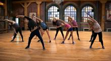 A-troupe stretch