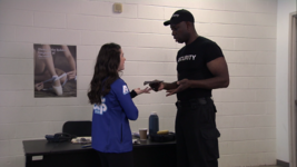 Dsmn the security guard rejects skylar's signature
