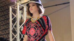 Riley Zoltan fashion show