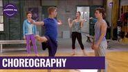 "The Next Step Season 2 Eldon vs Hunter ""Plastic Love"" Dance Battle Universal Kids"