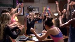 A-troupe celebrates