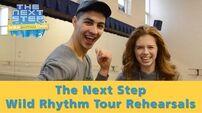 The Next Step Wild Rhythm Tour Jordan and Trevor – Rehearsals