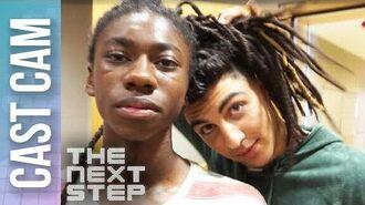 Isaiah Cast Cam Dance Battle Prep - The Next Step