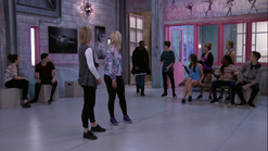 Lm michelle and emily arguing interrupted by leon piper josh ozzy amy richelle lola noah henry