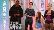 Working with Choreographer Leon Blackwood - The Next Step (Season 5 Episode 4)